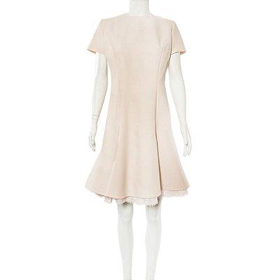 CHRISTIAN DIOR | Vestido Christian Dior Lã Rosé
