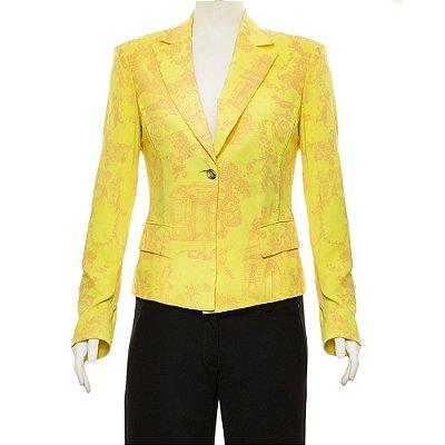 VERSACE | Blazer Versace Seda Amarelo