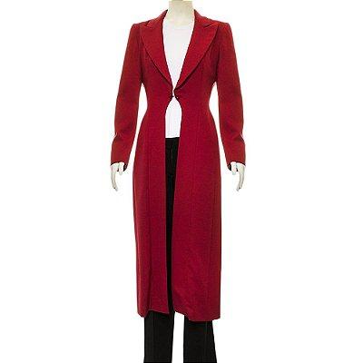 GIVENCHY | Casaco Givenchy Crepe Vermelho