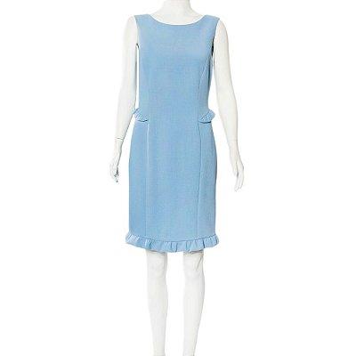 EMILIO PUCCI | Vestido Emilio Pucci Lã Azul Claro