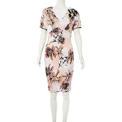BLUMARINE | Vestido Blumarine Viscose Estampado Rosa