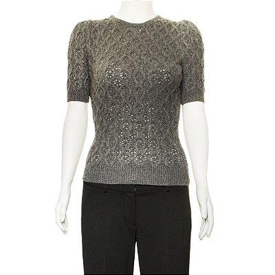 DOLCE & GABBANA | Pullover Dolce & Gabbana Cashmere Cinza