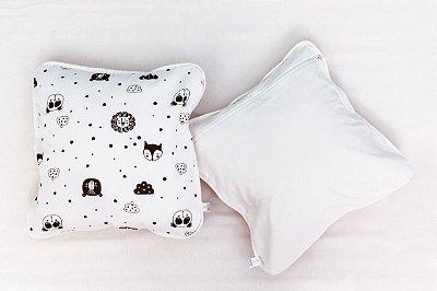 Almofada Infantil Urso P&B