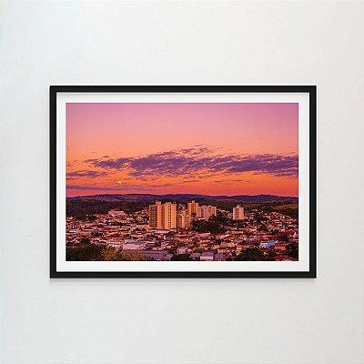 Nascer da Lua na cidade rosa - João Barim