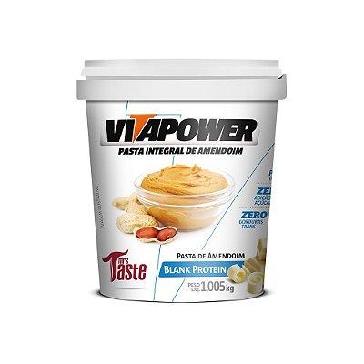 Pasta de amendoim Blank Protein 1,005kg VitaPower
