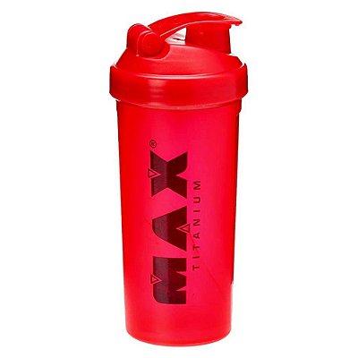 Coqueteleira Vermelha 700ml - Max Titanium