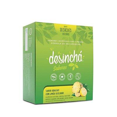Desincha sabores abacaxi com limao siciliano - cx 30 saches