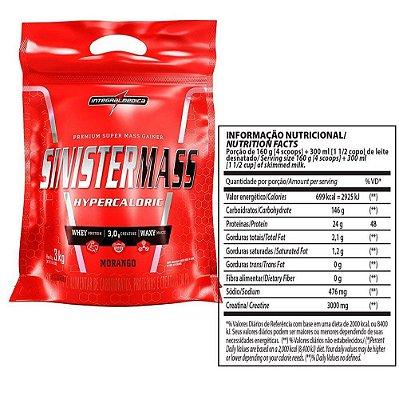 Sinister mass 3kg - Integral médica