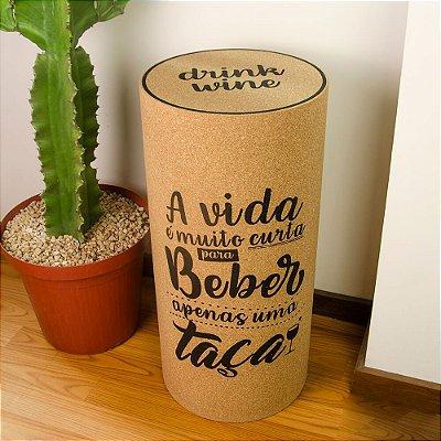 Banqueta Rolha Drink Wine