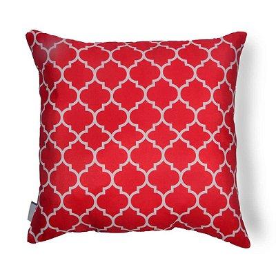 Almofada Vermelha para Sofá