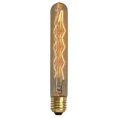 Lâmpada Retrô Filamento de Carbono T30