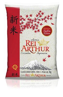 Arroz Rei Arthur Cozinha Japonesa 1kg