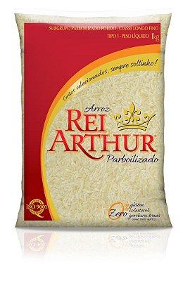 Arroz Rei Arthur Parboilizado 1kg