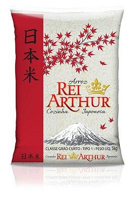 Arroz Rei Arthur Cozinha Japonesa 5kg