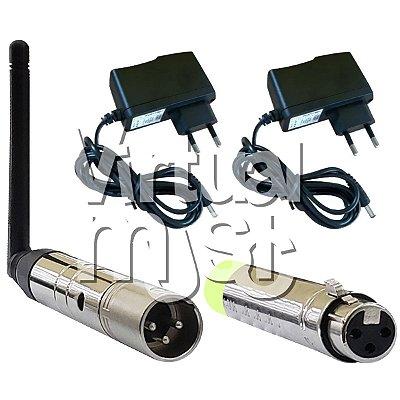 Antena Dmx 2,4 Ghz Com Fonte
