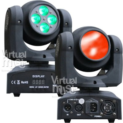 Moving Head Led Double Face 12w Rgbw Dmx
