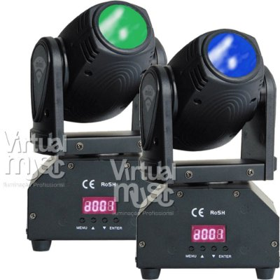 Moving Head Led Mini Beam 12w Rgbw Dmx