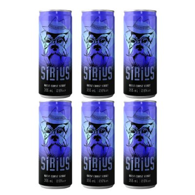 Cerveja Latido Sirius West Coast Stout 355mL 6-PACK