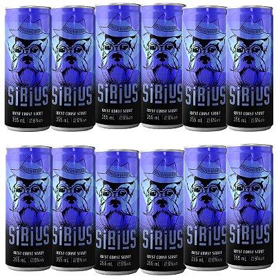 Cerveja Latido Sirius West Coast Stout 355mL 12-PACK