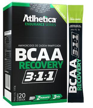 Bcaa Recovery 3:1:1 20 Stick Sabor Limão - Atlhetica Nutrition