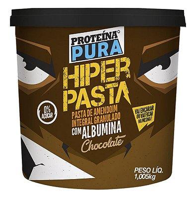 Pasta amendoim chocolate com albumina- Proteina Pura