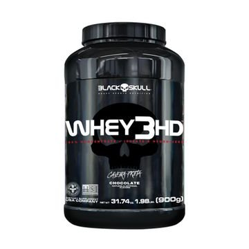 Whey 3HD- Black Skull