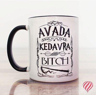 Caneca Avada Kedavra - Harry Potter