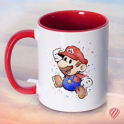 Caneca Super Mario & Red Mushroom