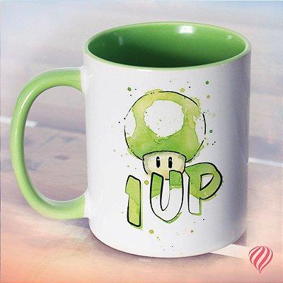 Caneca Cogumelo 1UP
