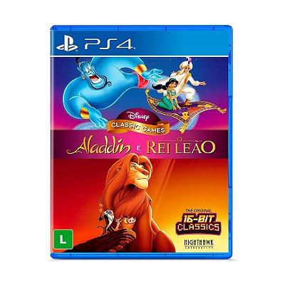 Aladdin e o Rei Leão - Disney Classic Games (PS4)