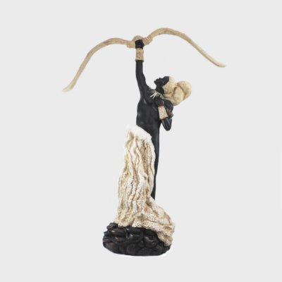 Orixá Oxóssi (Grande marfim)