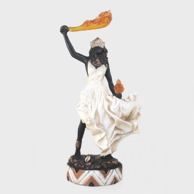 Orixá Egunitá (Média marfim)