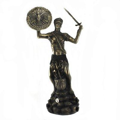 Orixá Oxaguiã (Grande bronze)