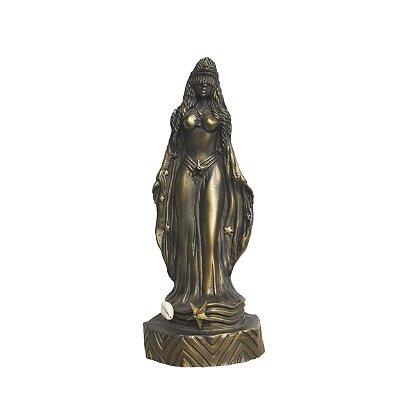 Orixá Iemanjá (Média bronze)