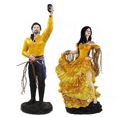Casal de Ciganos Amarelo (Médio)