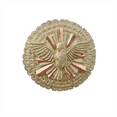 Escudo de Oxaguiã Grande Pintura em Marfim