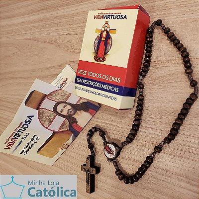 Medicamento para uma vida virtuosa - Terço das Santas Chagas - 220014