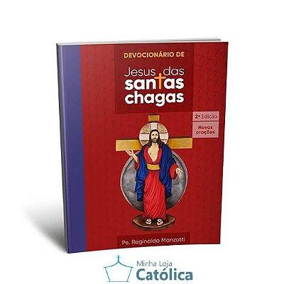 Livro Devocionário Santas Chagas - 102446 - 109624