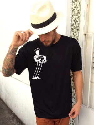 Camiseta Malandro no Pandeiro