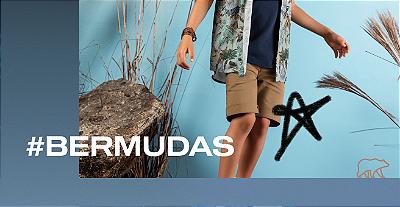 Mini Banner Bermudas