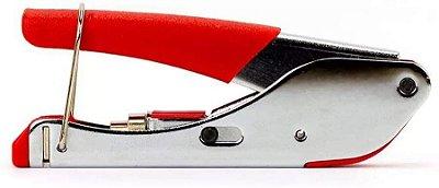 Alicate Crimpar Compressão Rg59 Rg6 Coaxial Antena