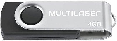 Pendrive Multilaser (Imagem Ilustrativa)