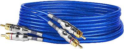Cabo RCA Fitz 3 + 3 RCA plug metal