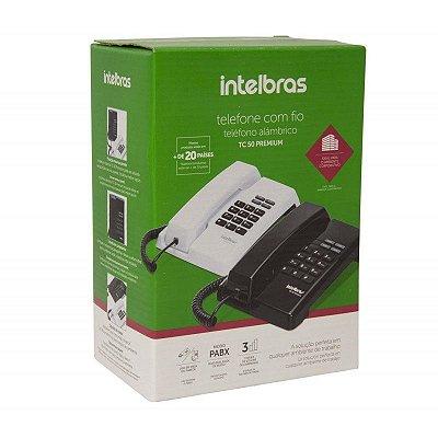 Telefone com fio TC50 Premium Intelbras