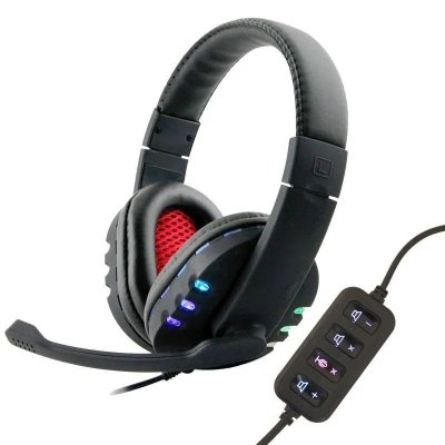 Headset Bomsell FO-11, Conexão USB