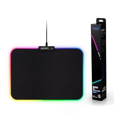 Mousepad RGB Exbom - Preto