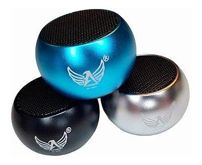 Caixa de som mini AL-3031, Bluetooth - Azul