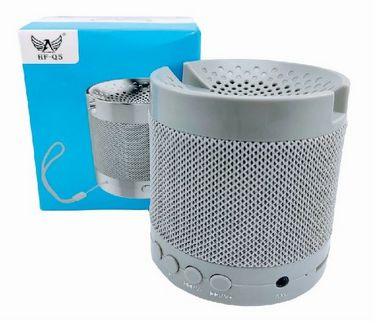 Caixa de Som Pequena HF-Q5, Entrada Bluetooth, P2, Cartão de Memória, USB FM