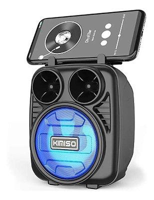 Alto falante bluetooth USB, Cartão de Memória e FM