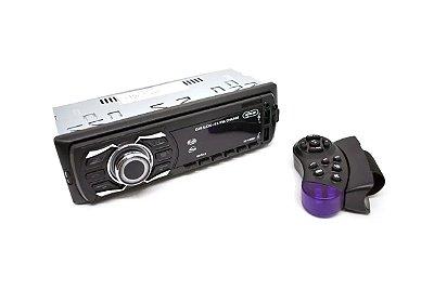 Som automotivo Knup 60W, Conexão USB, TF, P2 e Bluetooth